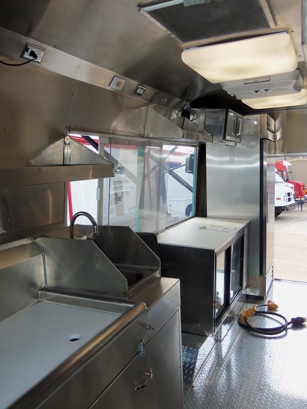 Armandos Foods Truck Interior