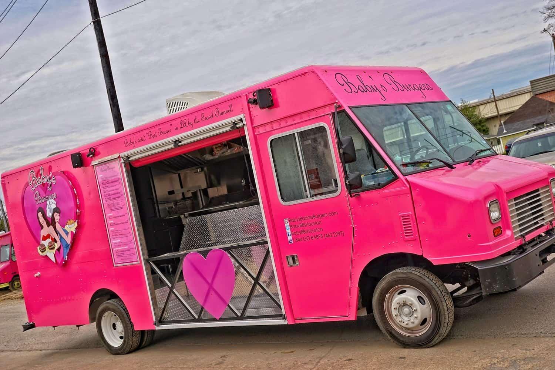 Babies Badass Burgers Food Truck