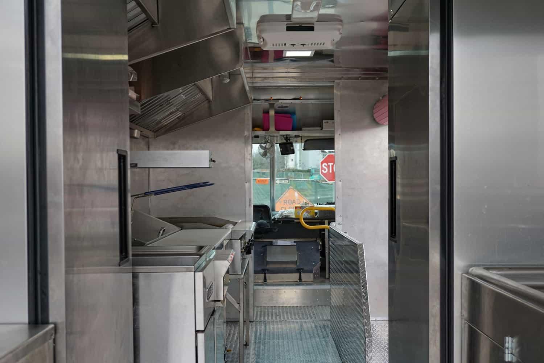 Babies Badass Burgers Food Truck Interior
