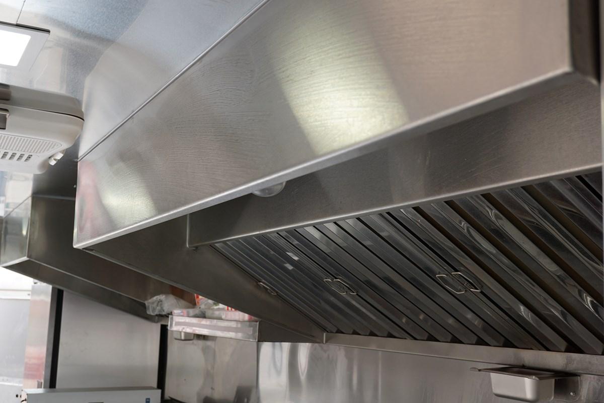 Baby's Burgers Foods Truck Interior