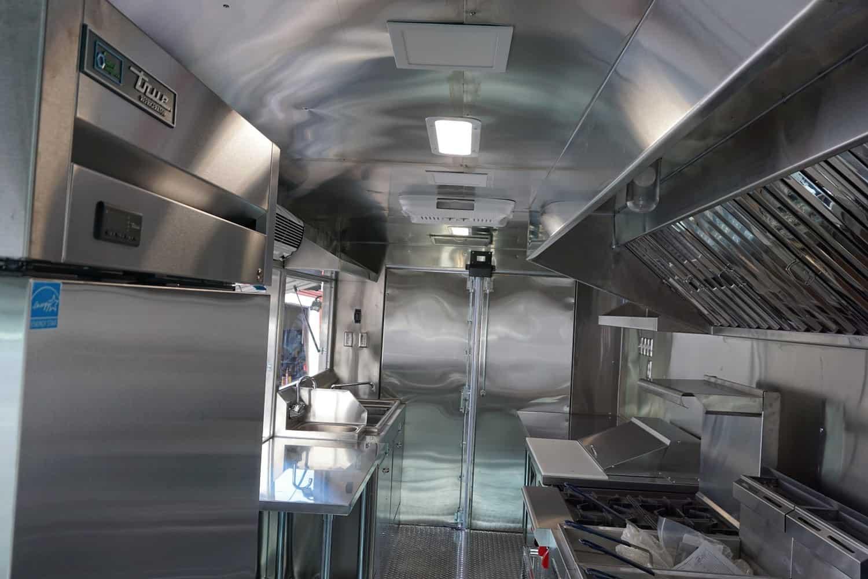 Brazo Food Truck Interior