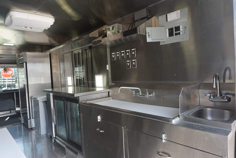 Breaking Bao Food Truck Interior