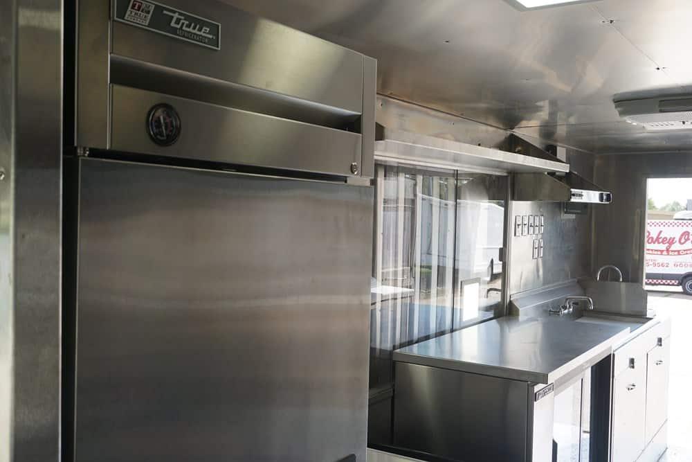 Breaking Bao Food Truck Interior