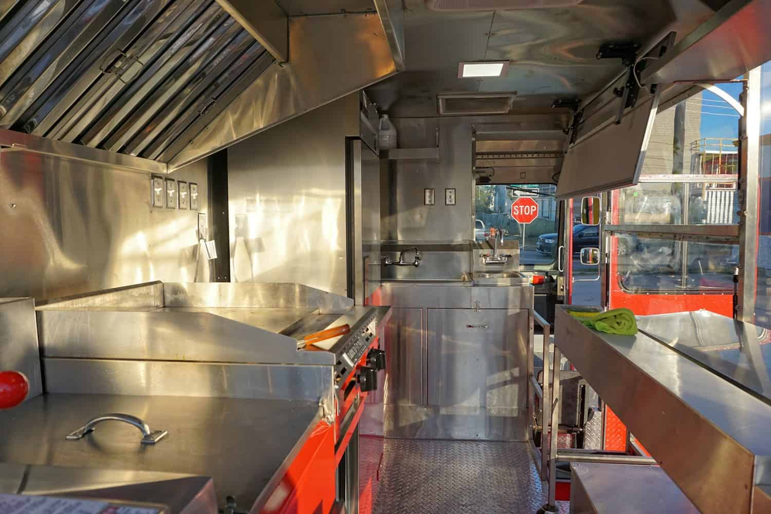 Broasty Food Truck Interior