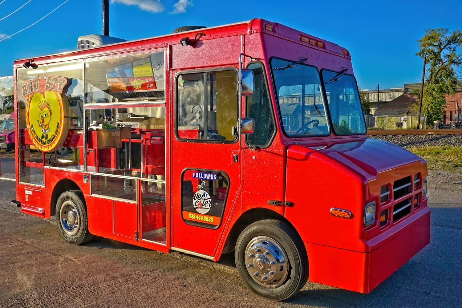 Broasty Food Truck Builder