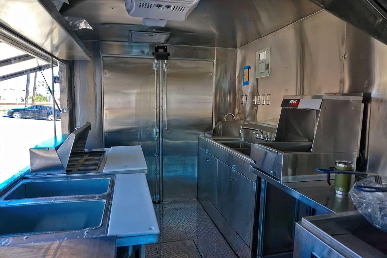 Eaker Food Truck Interior