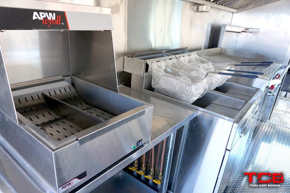 Eaker Foods Truck Interior