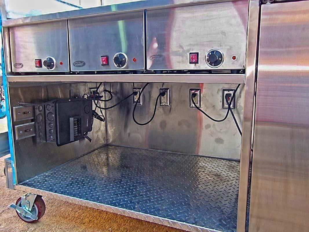 Frito Layhdr Food Truck Interior