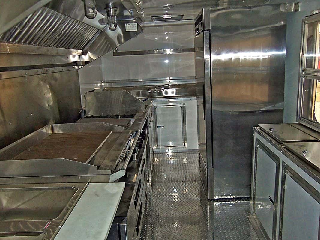 Jokers n Smokers Food Truck Interior
