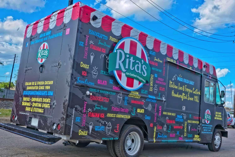 Ritas Custard Food Truck