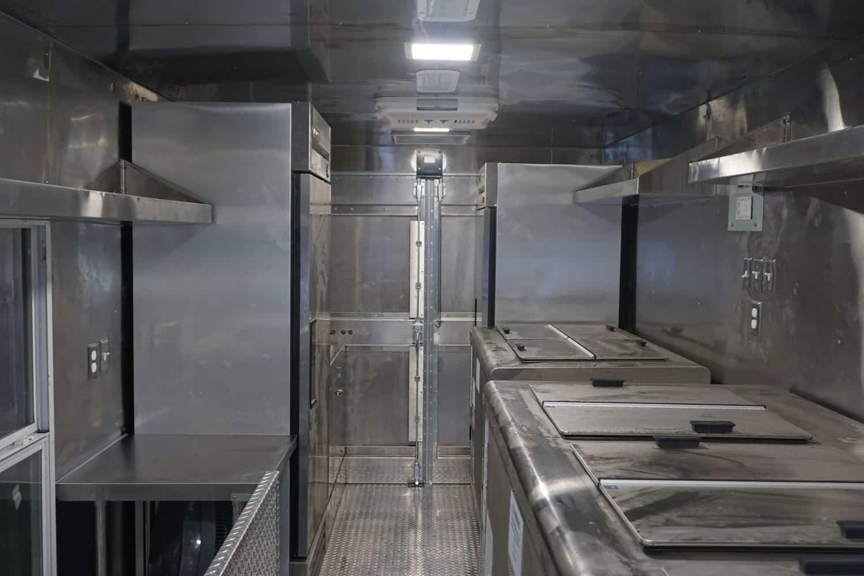 Little Poblano Food Truck Interior
