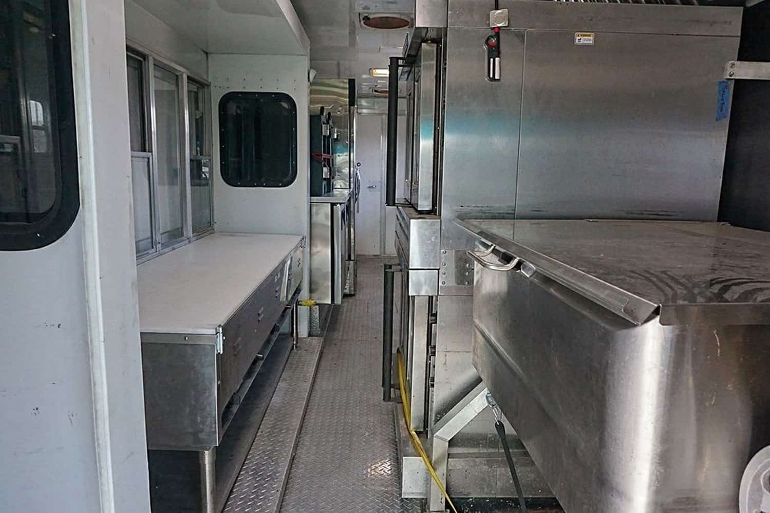 Mercy Chef Food Truck Interior