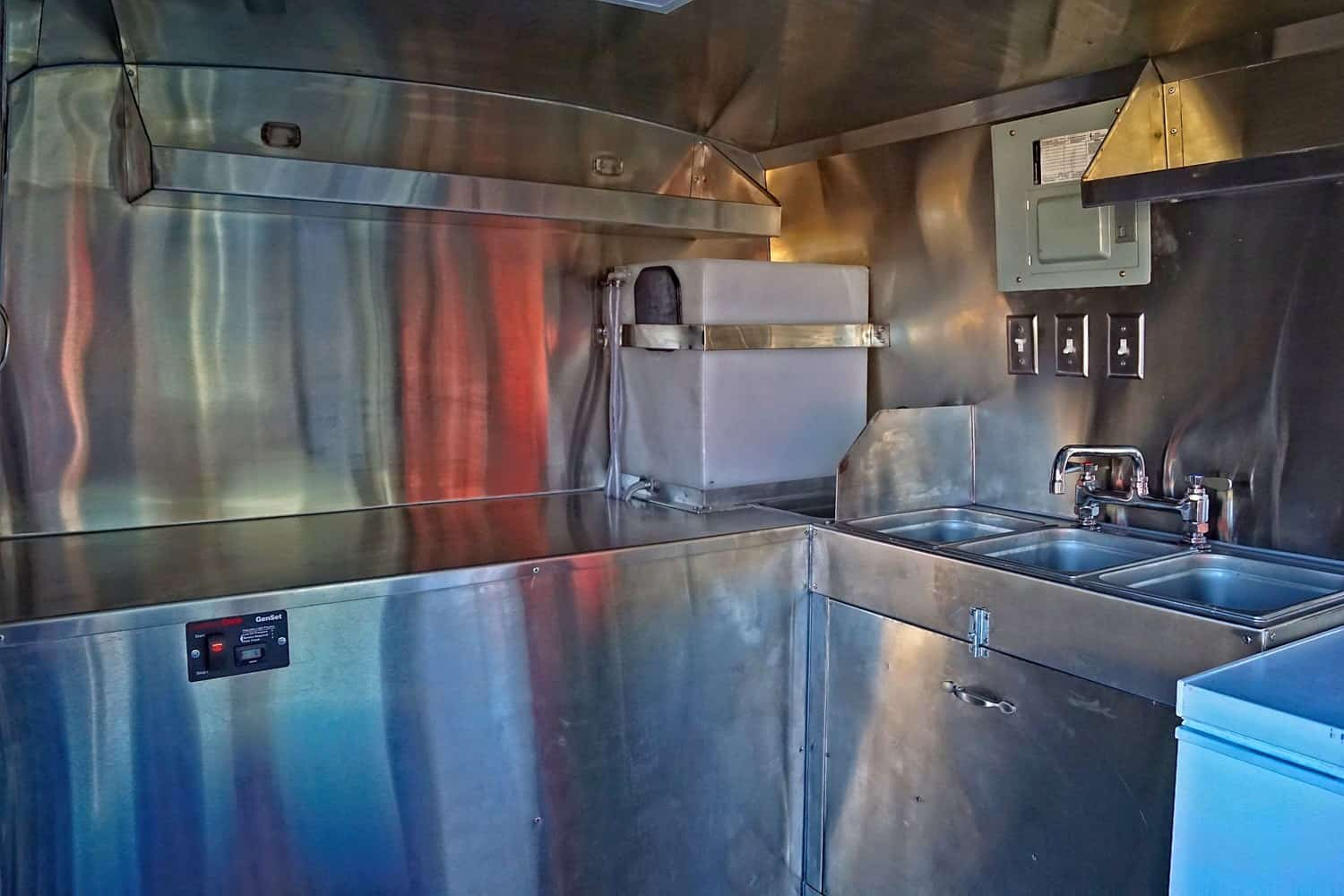 Mercy Chefs Food Truck Interior