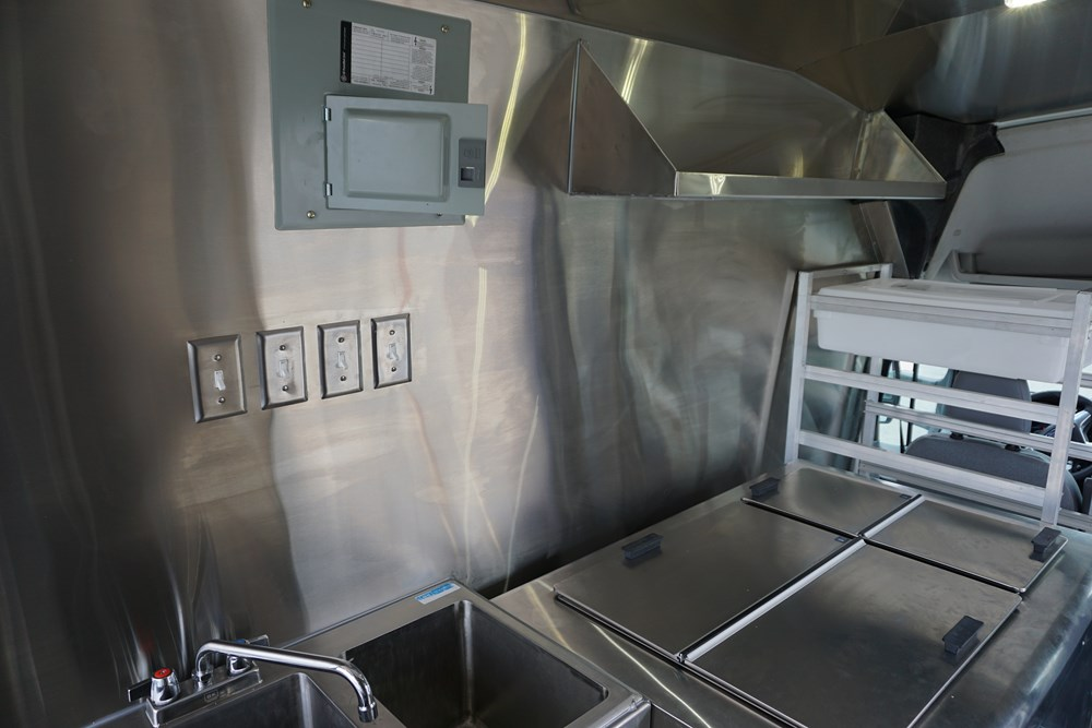 PokeyOs Foods Truck Interior