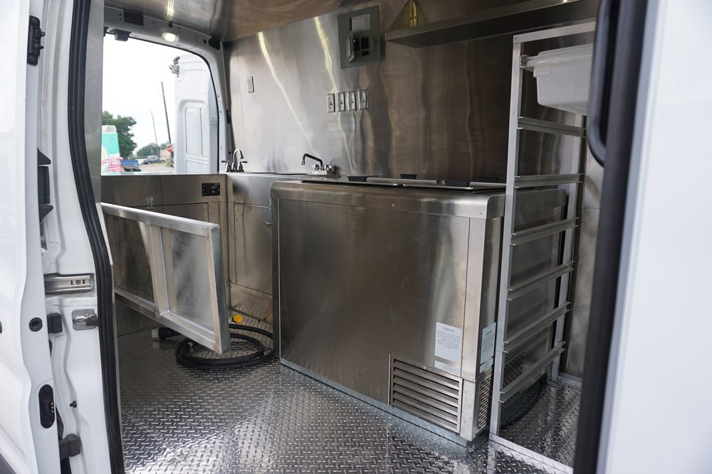 PokeyOs Foods Truck Interior