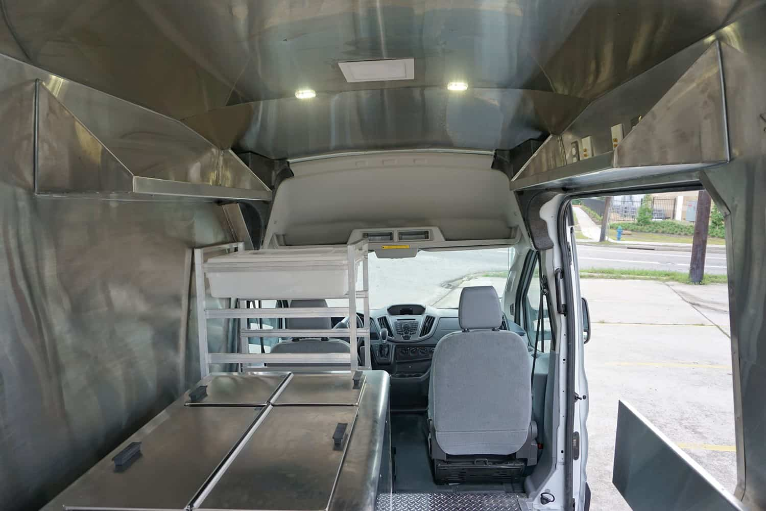 Pokey'os Food Truck Interior