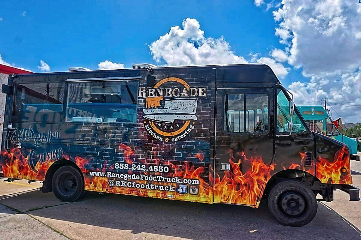 Renegade Food Truck Interior