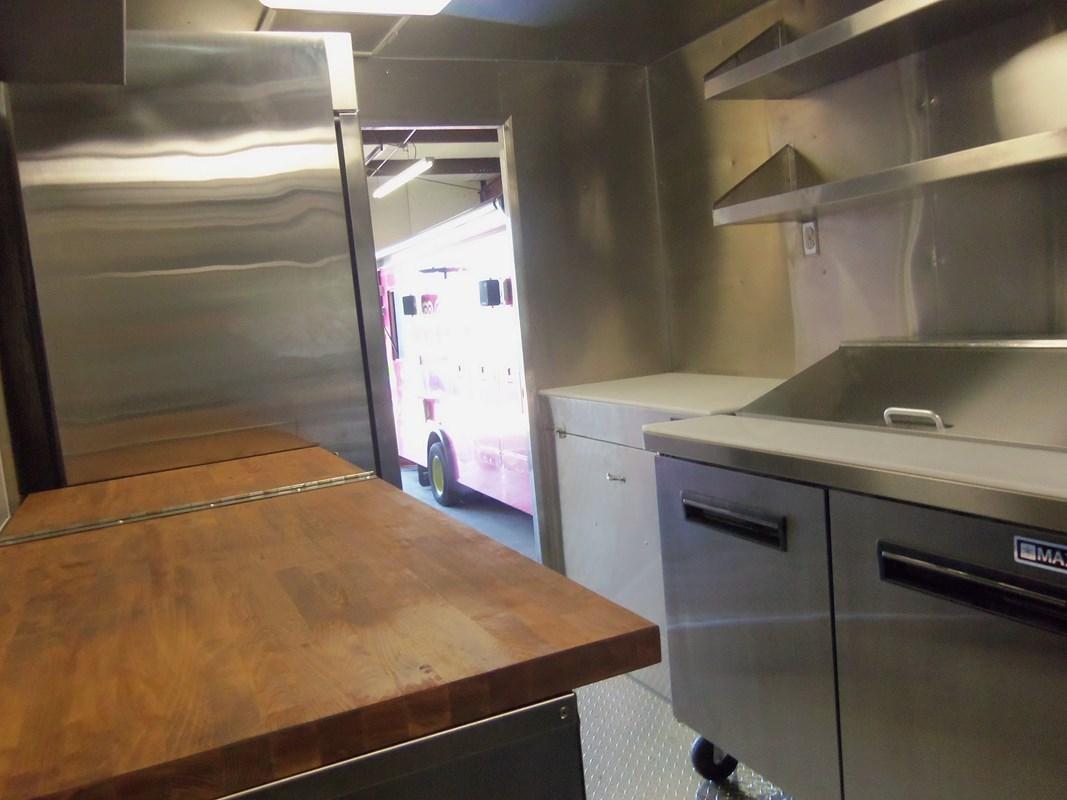 Ripe Cuisine Truck Interior