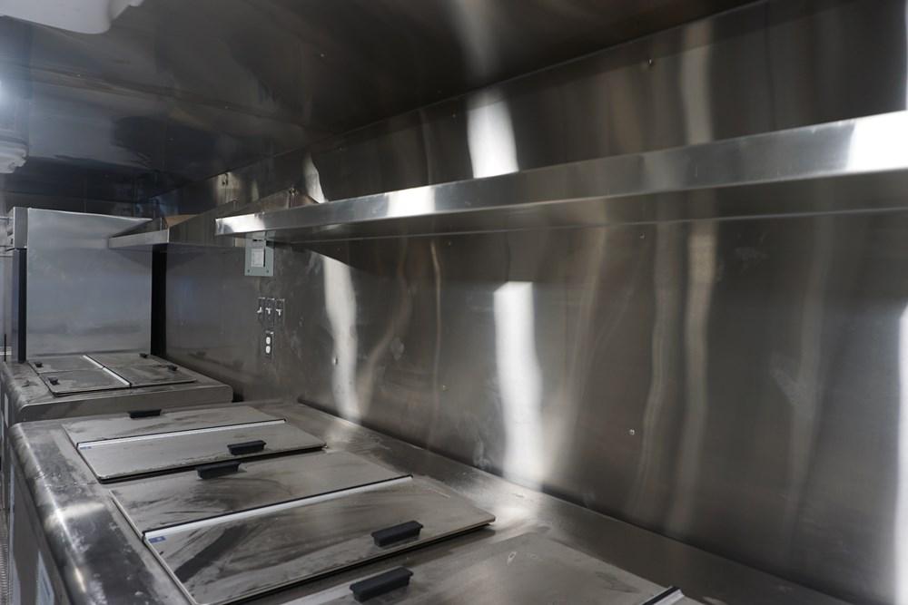 Ritas Foods Truck Interior