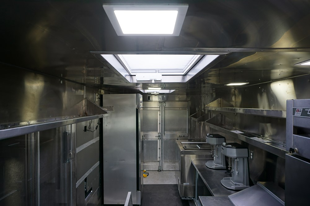 Shake it up Foods Truck Interior