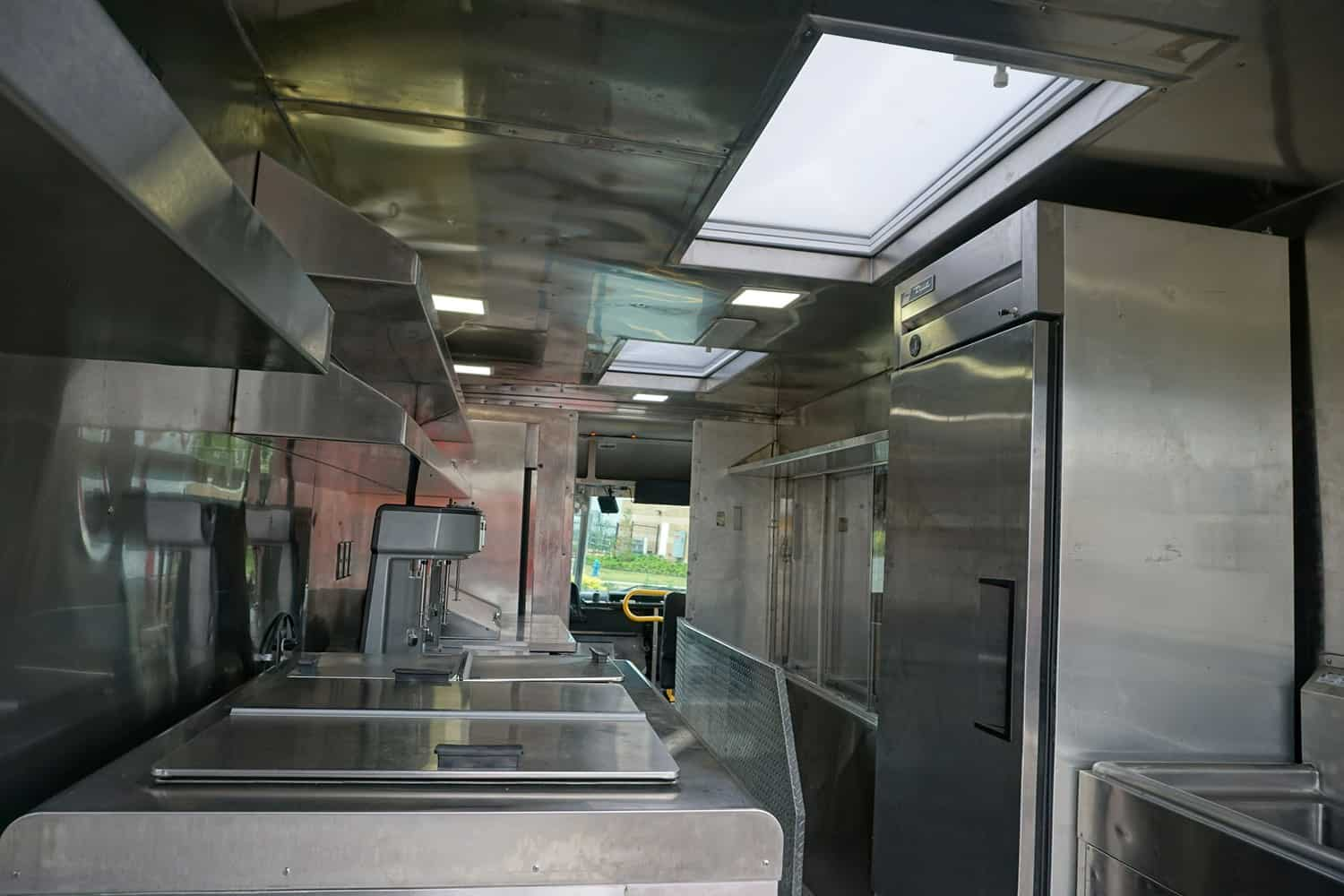 Shake it up Food Truck Interior