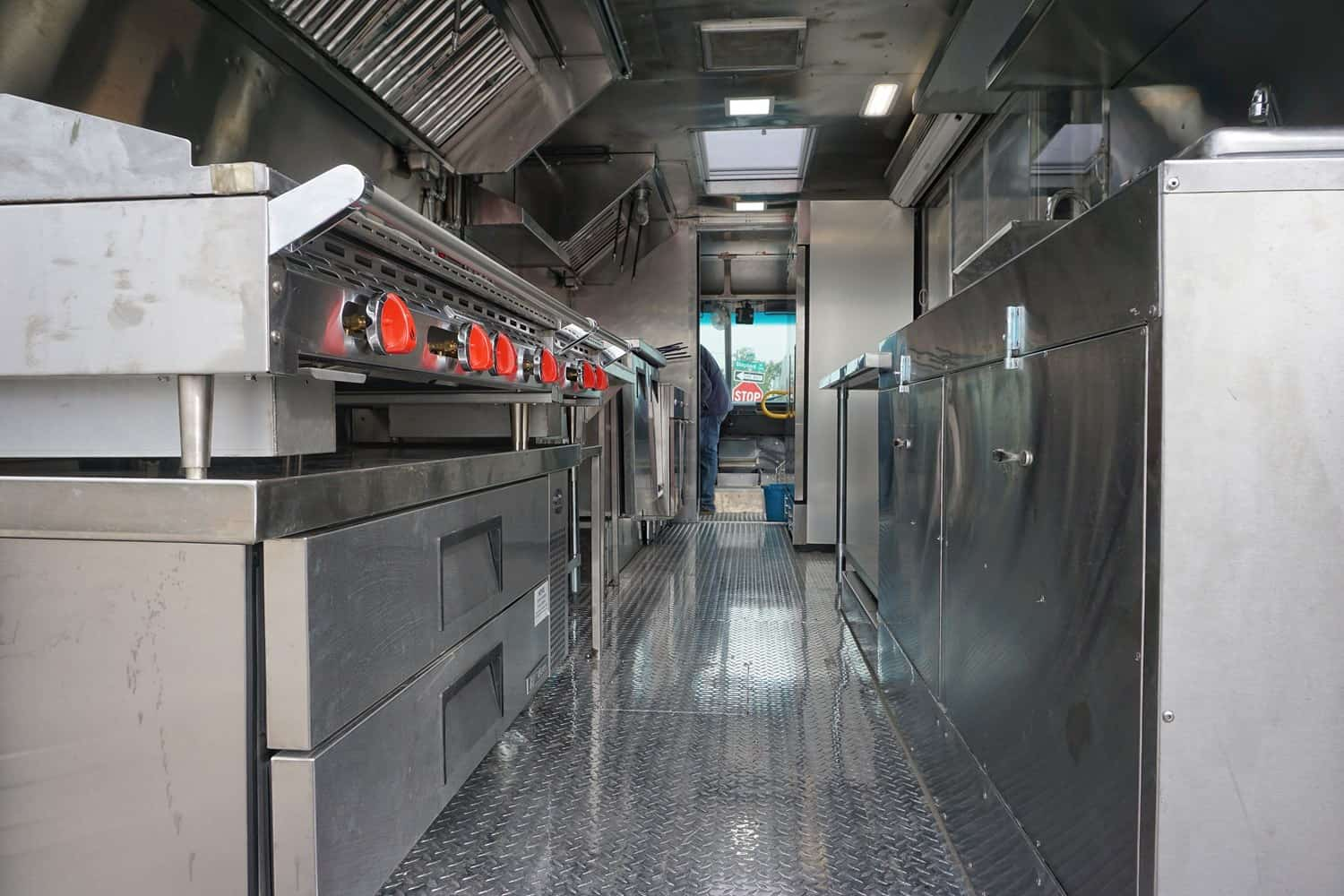 Sizzlez Food Truck Interior