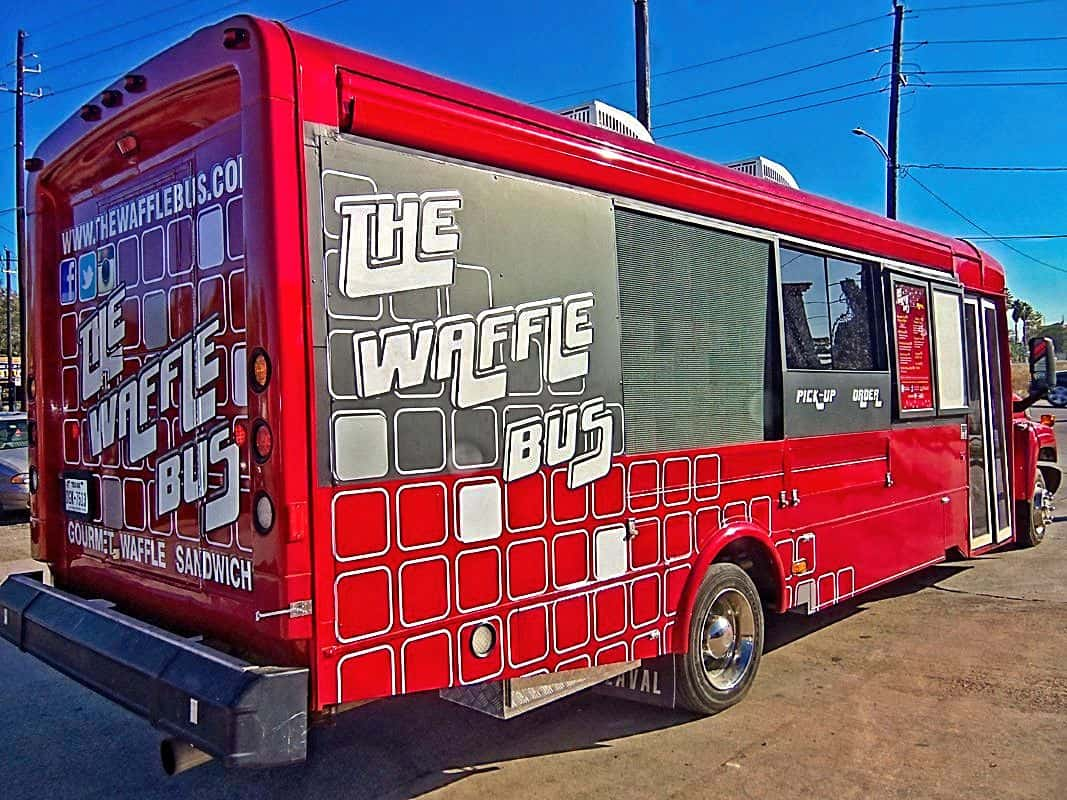 Waffale Food Bus